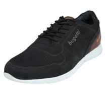 Low Sneaker 'Bambola' kastanienbraun / schwarz