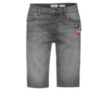 Jeansshorts 'dnm Grey Wash' grey denim
