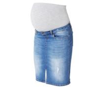 Jeans-Umstandsrock kurz blue denim