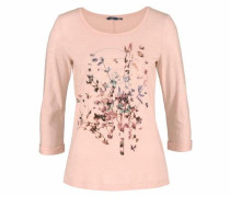 3/4-Arm-Shirt rosé
