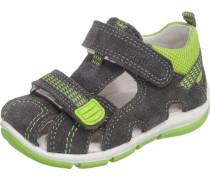 Kinder Sandalen WMS-Weite M4 grau / neongrün