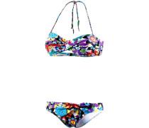 Bandeau Bikini mischfarben