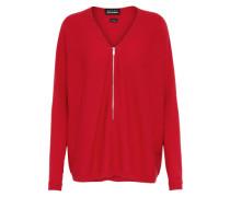 Pullover 'Cashmere & Zipper'