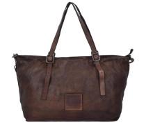 'Tarassaco Shopper' Tasche 35 cm kastanienbraun