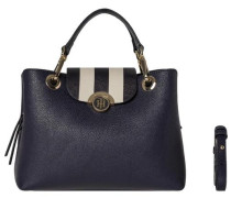 Handtaschen »Effortless Novelty MED Satchel Stripe« schwarz