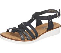 Sandaletten grau