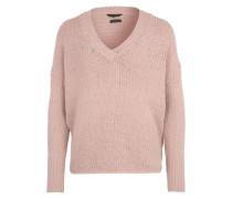 V-Pullover 'Chenille' pink