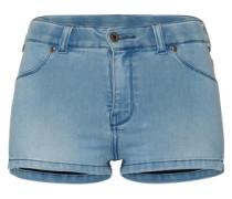 'Kara' Denim Shorts hellblau