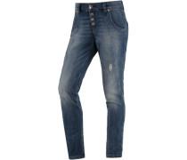 Boyfriend Jeans Damen blau