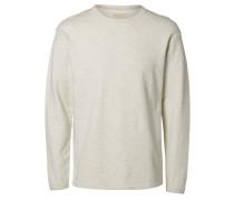 Sweatshirt Crew-Neck weiß