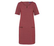 Kleid in A-Linie rostrot