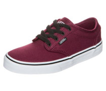 Atwood Sneaker Kinder rot / bordeaux / weinrot