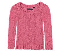 leichter Baumwollpullover pink
