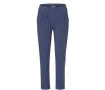 Blaue Hose im lässigen Casual Stil mit allover Print blau