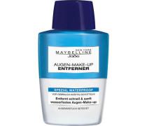'Augen-Make-Up Entferner Waterproof' Augen-Make-Up-Entferner blau / weiß