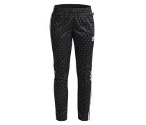 Jogginghose 'Firebird' schwarz / weiß