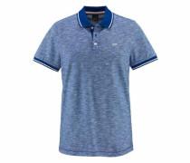 Poloshirt blaumeliert