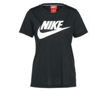 T-shirt 'Essential' schwarz / weiß