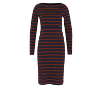 Streifen-Kleid 'Ciregina' blau / orange