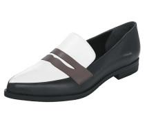 Slipper schwarz / weiß