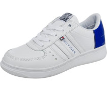 Kinder Sneakers blau / weiß