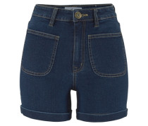 Shorts »Denim-High-Waist« blau