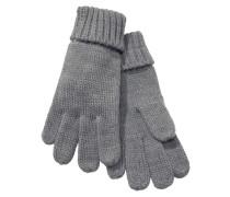Strickhandschuhe grau
