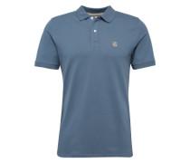 Klassisches Poloshirt taubenblau