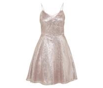 Pailletten-Kleid gold / rosé