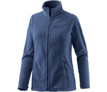 Midnight Moon Fleecejacke Damen blau