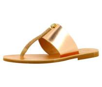 Damen Sandale rosegold