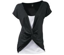 Shirt 2-in-1 schwarz