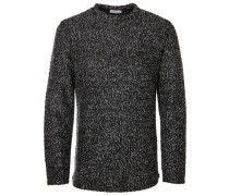 Sweatshirt Strukturierter schwarz