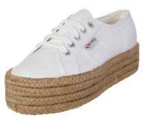 Sneaker '2790 - Cotropew' mit Jute-Plateau weiß