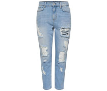 Anti Fit Jeans Studio4 MW Girl Ankle hellblau