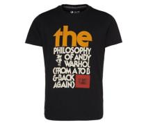 Shirt 'phiilosophy' schwarz