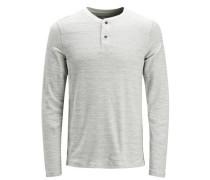 T-Shirt mit langen Ärmeln hellgrau