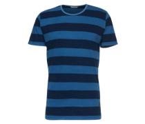 Shirt '1867' blau / schwarz