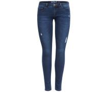 Skinny Fit Jeans Coral sl blau