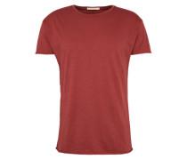 T-Shirt 'Roger Slub' rubinrot