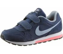 'MD Runner' Sneaker dunkelblau / koralle