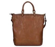 Ginestra Shopper Tasche Leder 28 cm braun