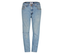 'Vintage Saints Middies' Tapered Denim blau