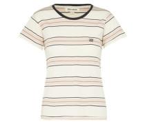 T-Shirt 'Soul Babe' puder / weiß
