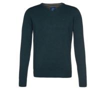 Pullover 'basic v-neck' blau