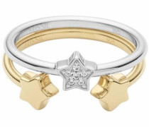 Ring-Set gold / silber