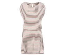 Jerseykleid 'Venda Ariella' pink / weiß