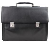 Aberdeen Aktentasche Leder 42 cm Laptopfach schwarz