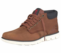 Boots 'Bradstreet Chukka Leather' dunkelbraun / dunkelgrau
