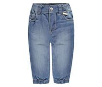 KANZ Jogging-Jeans mit Gummibund Jungen Baby blau